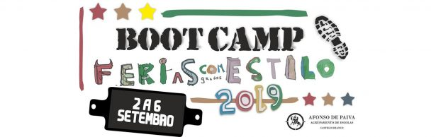 Bootcamp – Férias com estilo 2 a 6 de Setembro 2019